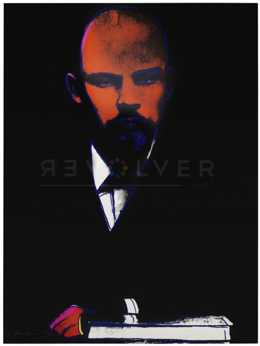 Andy Warhol Black Lenin 402