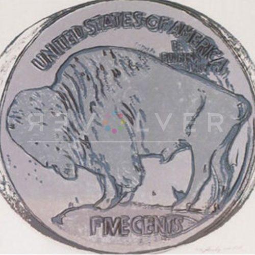 Andy Warhol Screenprint Buffalo Nickel