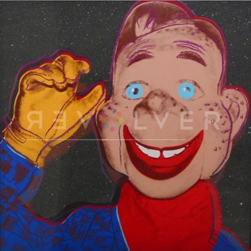 Andy Warhol Screenprint Howdy Doody