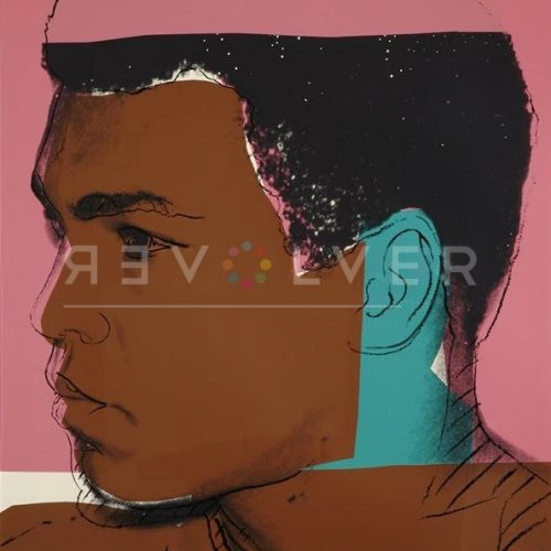 Andy Warhol Screenprint Muhammad ali