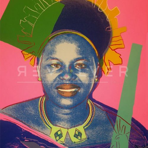 Andy Warhol Screenprint Queen Ntombi 346 TP