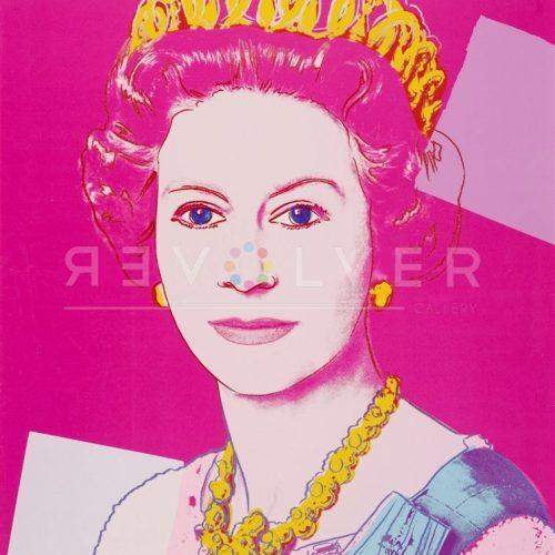 Andy Warhol Screenprint Queen elizabeth