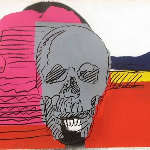 Andy Warhol Skull 159