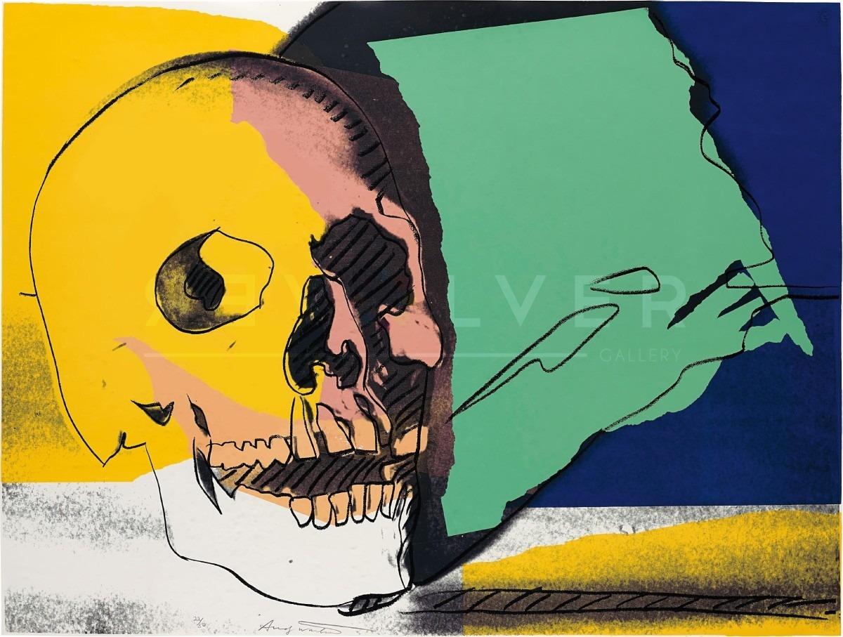 Andy Warhol Skull 158