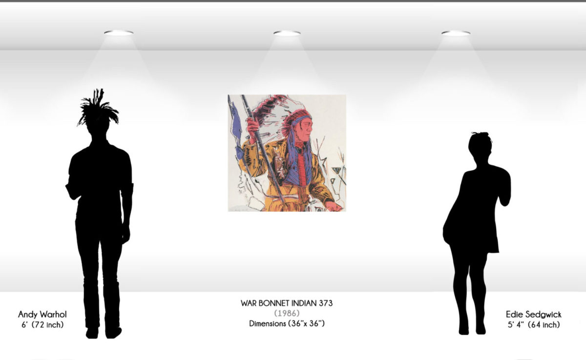 Andy Warhol - War Bonnet Indian F.S. II 373 wd jpg