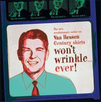 Andy Warhol Screenprint Van heusen