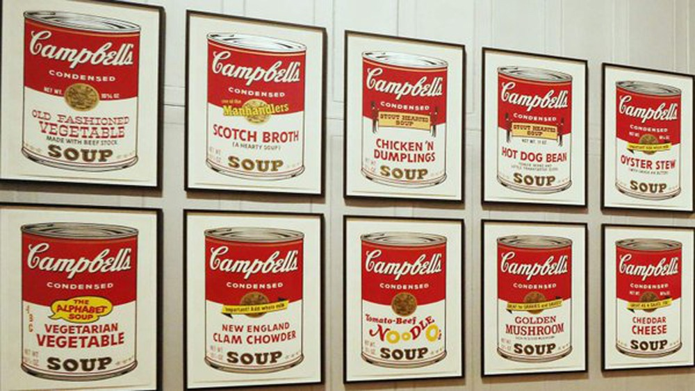 Campbells Soup Cans on Black Market
