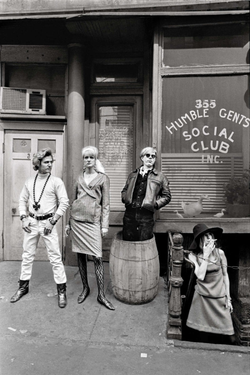 Unseen Warhol photos by Larry Fink
