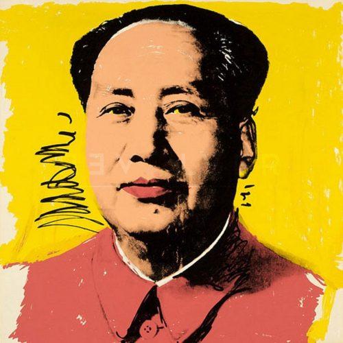 Andy Warhol Screenprint Mao