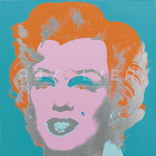 Warhol Marilyn Monroe 29 by Andy Warhol