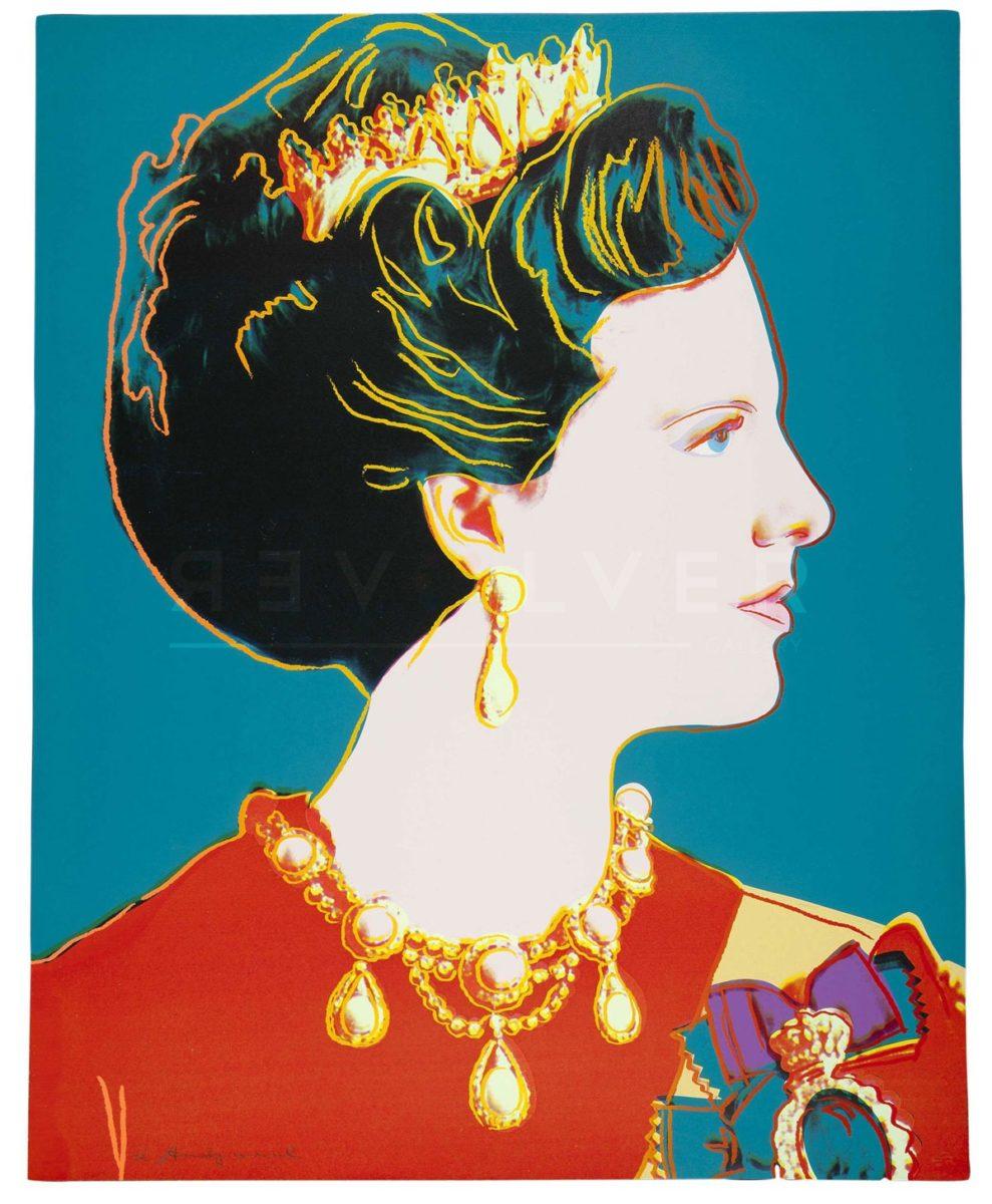 Andy Warhol - Queen Margrethe II of Denmark F.S. II 343 jpg