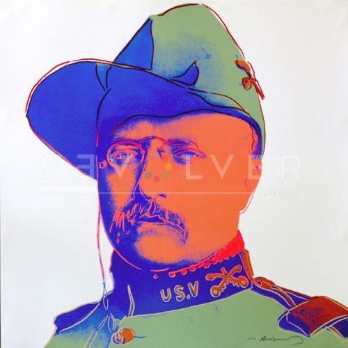 Andy Warhol Screenprint Teddy roosevelt TP