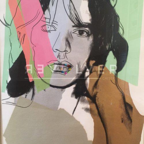 Andy Warhol – Mick Jagger F.S. II 140 jpg