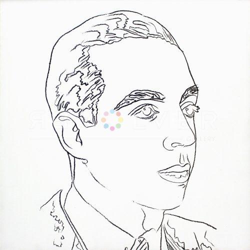 Andy Warhol – Vincente Minnelli jpg