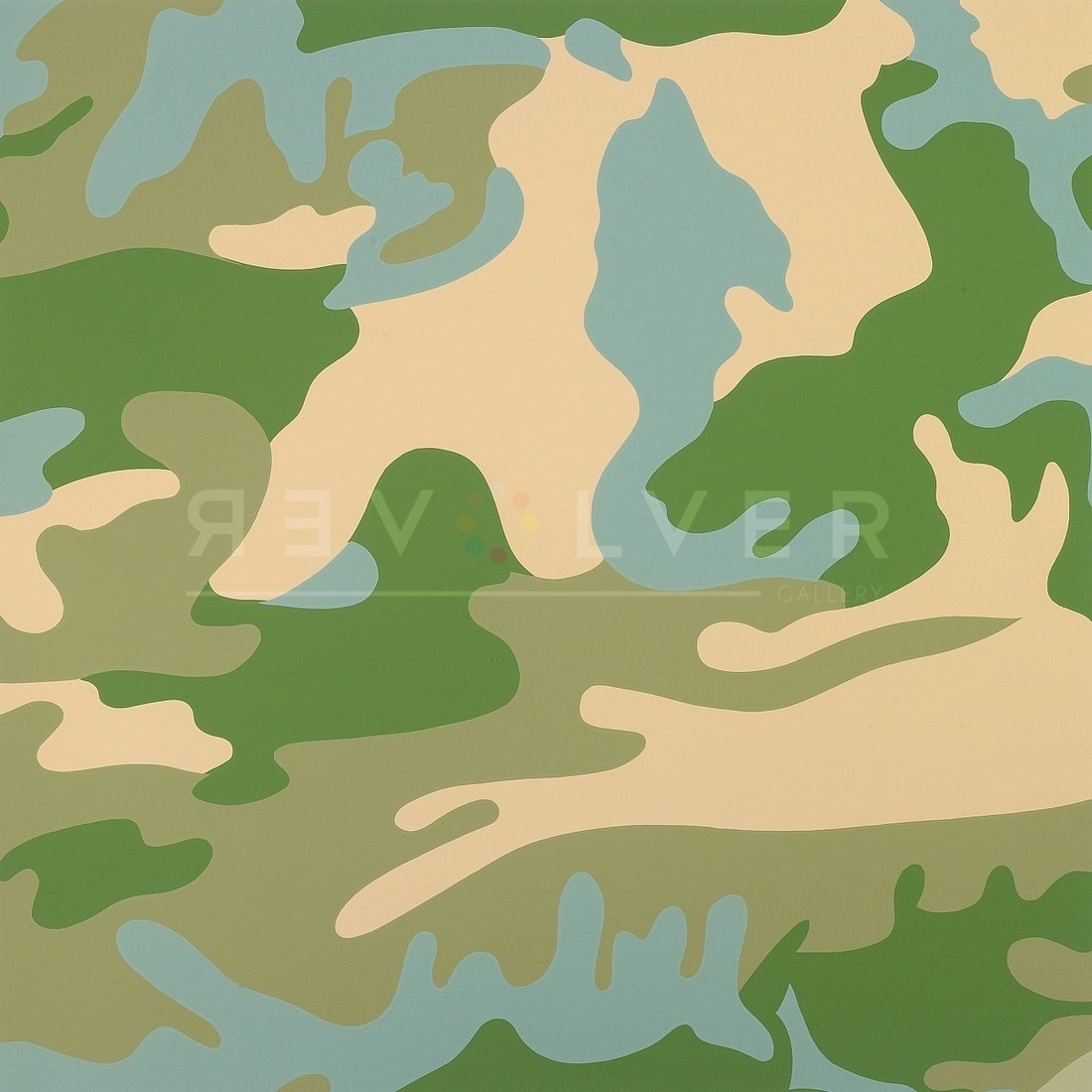 Andy Warhol Camouflage 407