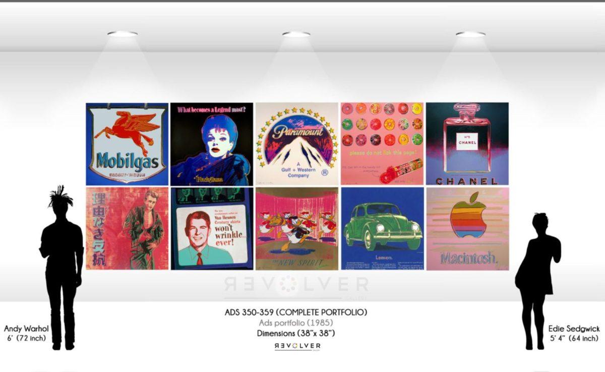 Andy Warhol Ads full portfolio