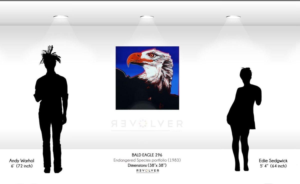 Andy Warhol Bald Eagle 296