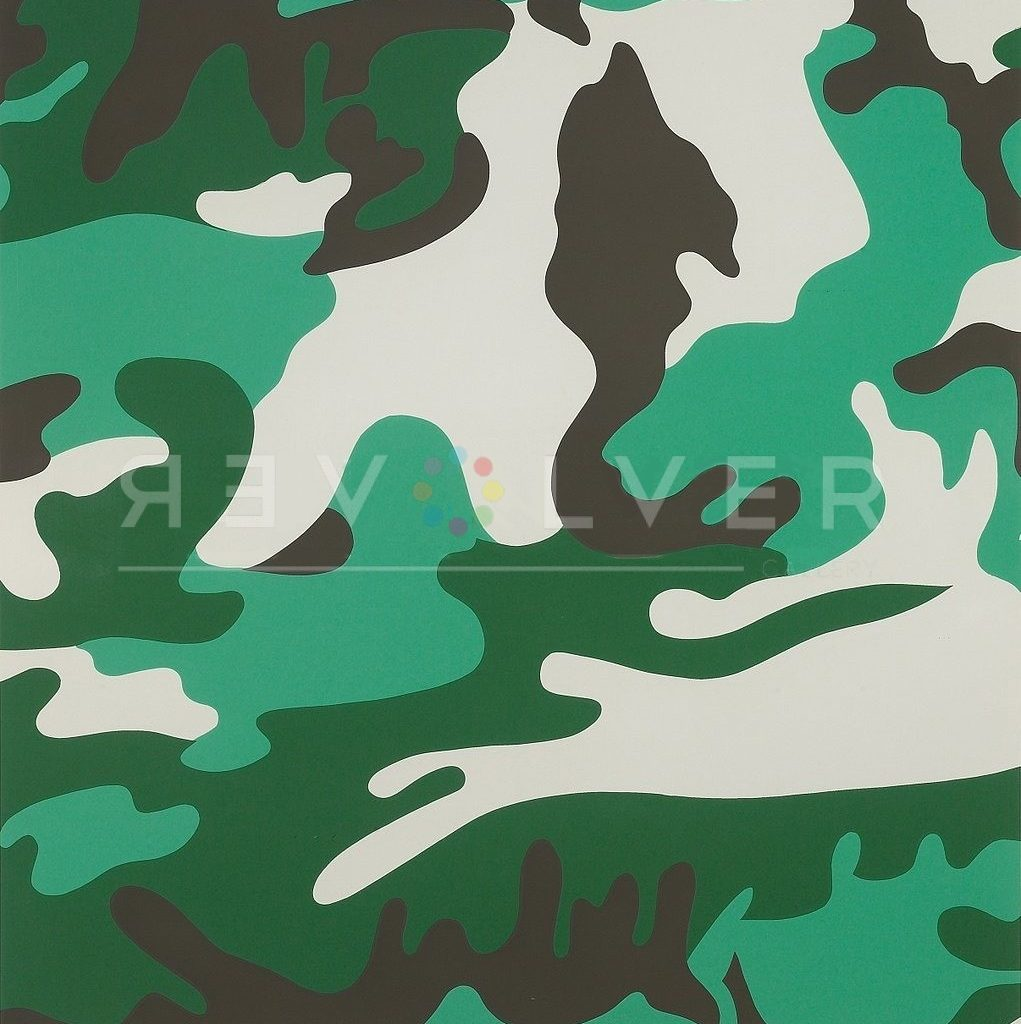 Andy Warhol Camouflage 406