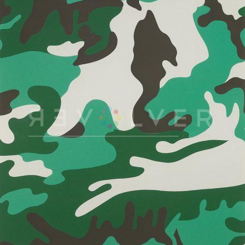Andy Warhol Screenprint Camouflage