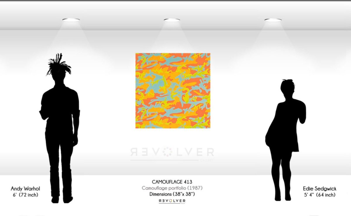 Andy Warhol Camouflage 413