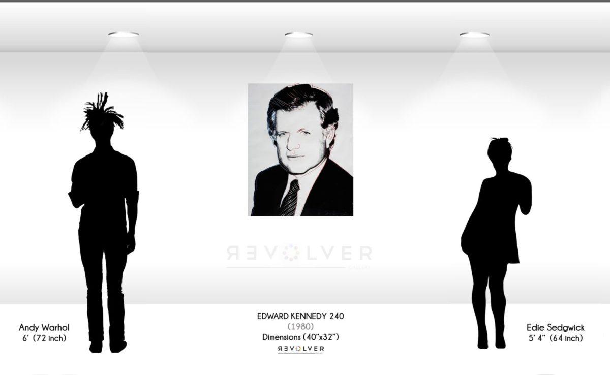 Andy Warhol Edward Kennedy 240
