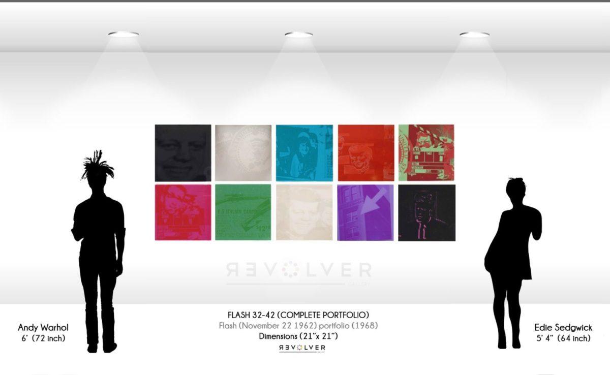 Andy Warhol Flash November 22 1963 complete portfolio