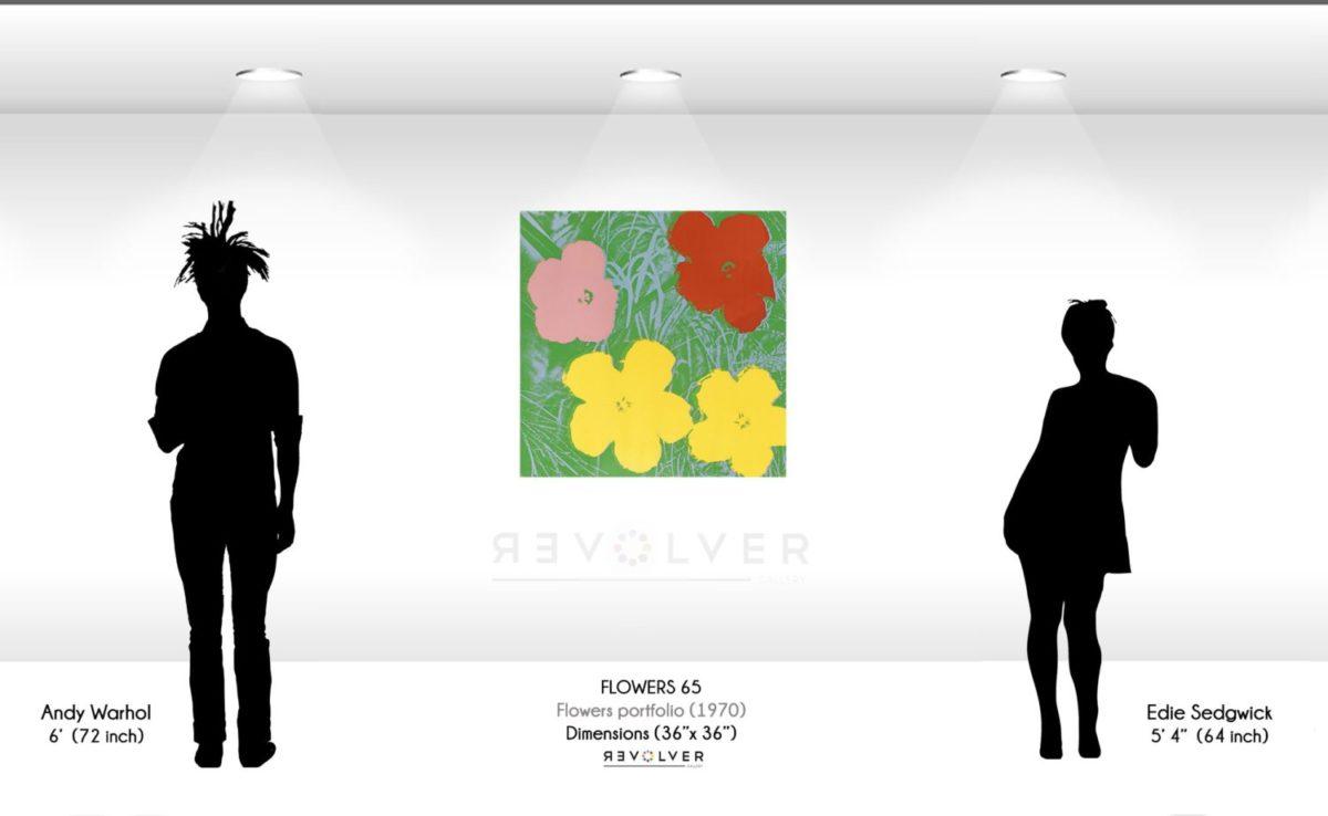 Andy Warhol Flowers 65