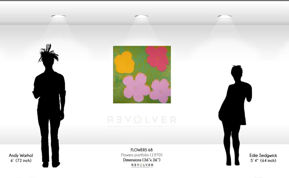 Andy Warhol Flowers 68