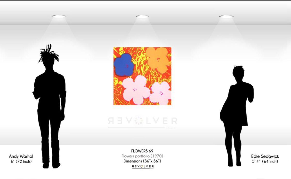 Andy Warhol Flowers 69