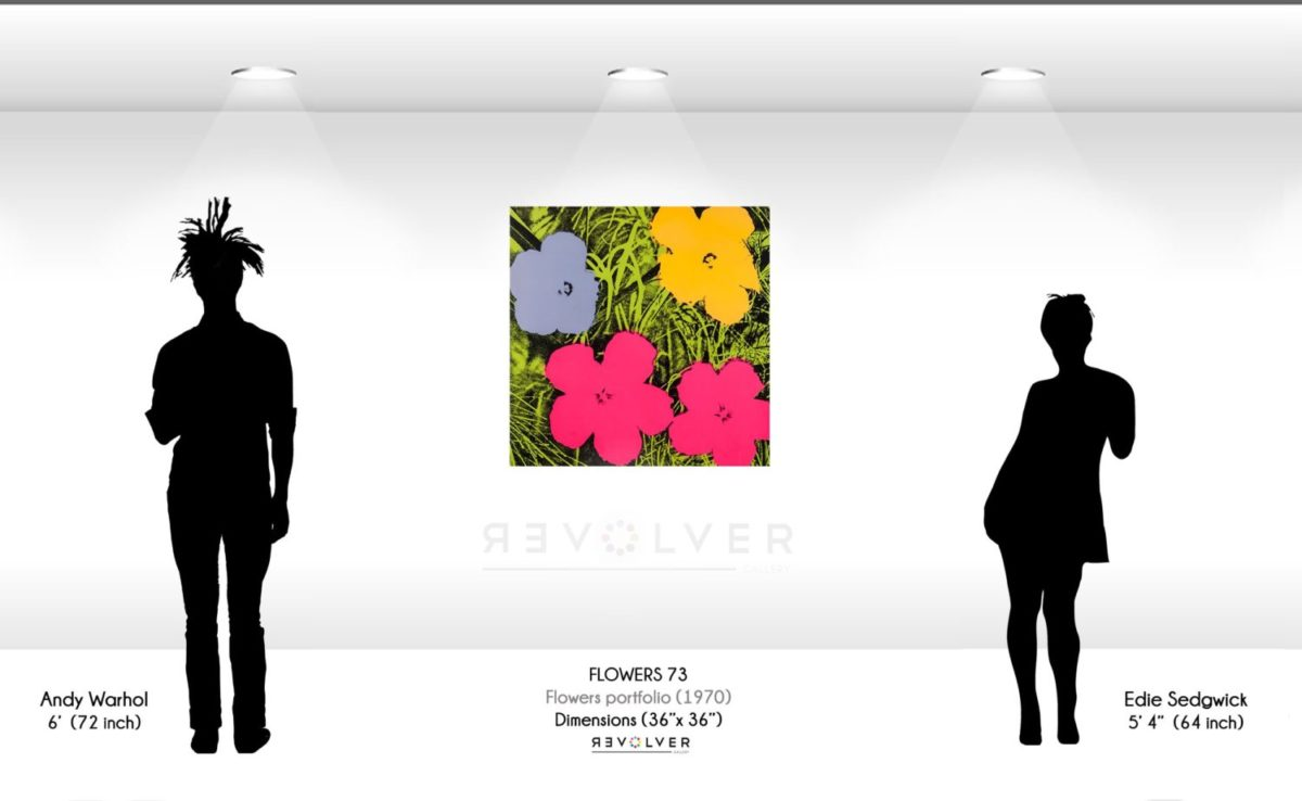 Andy Warhol Flowers 73