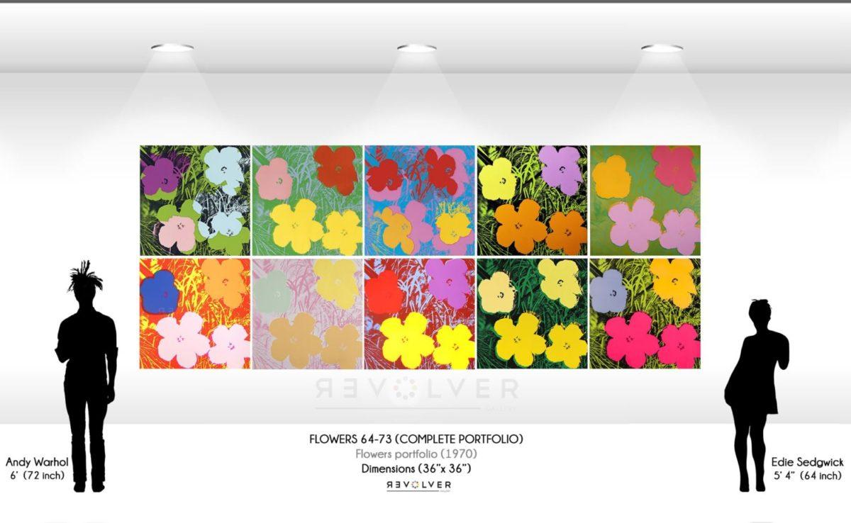 Andy Warhol Flowers complete portfolio