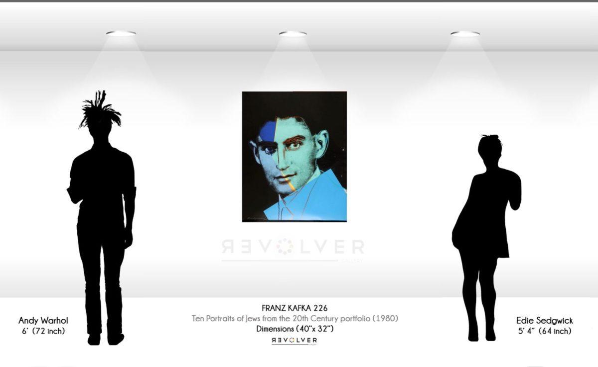 Andy Warhol Franz Kafka 226