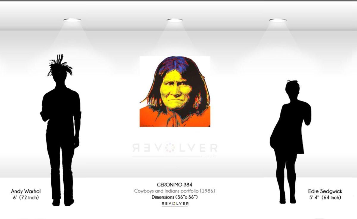 Andy Warhol Geronimo 384