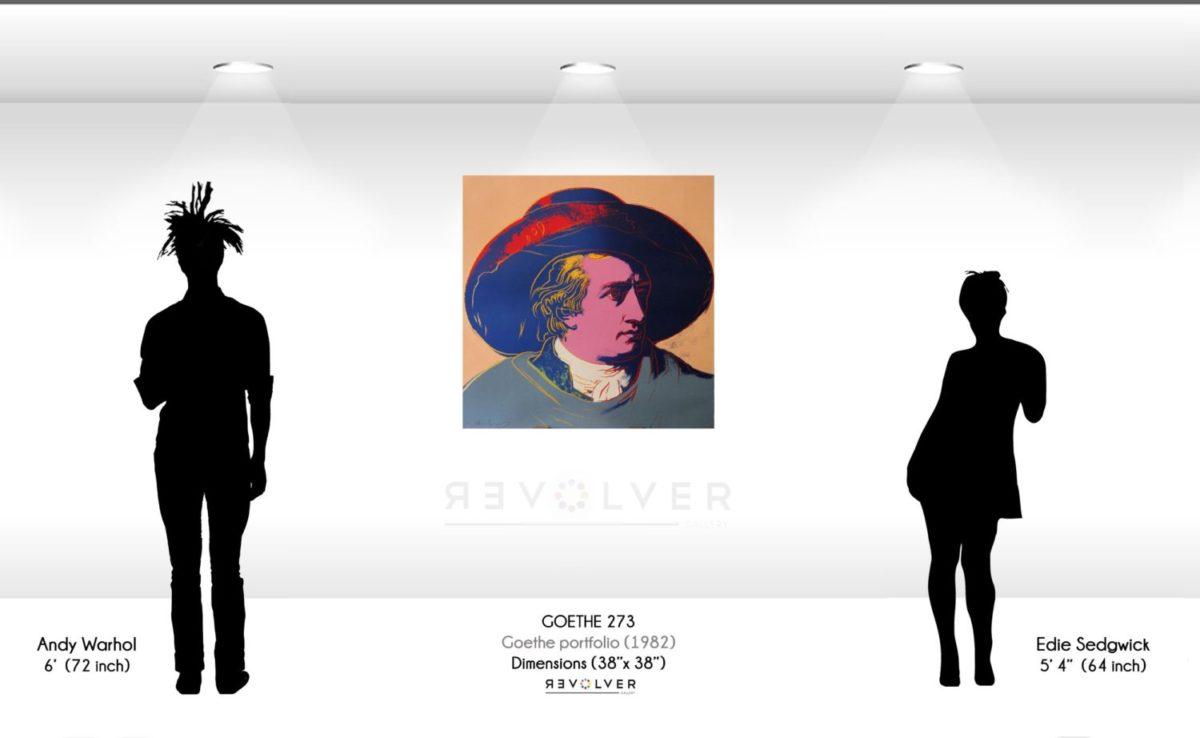 Andy Warhol Goethe 273