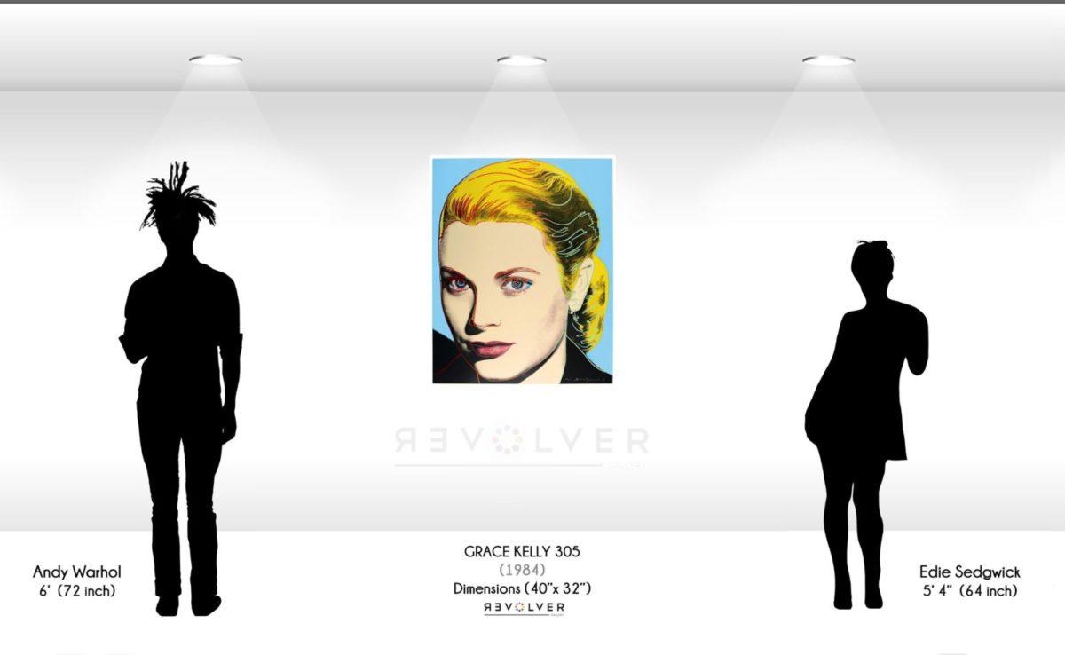 Andy Warhol Grace Kelly 305