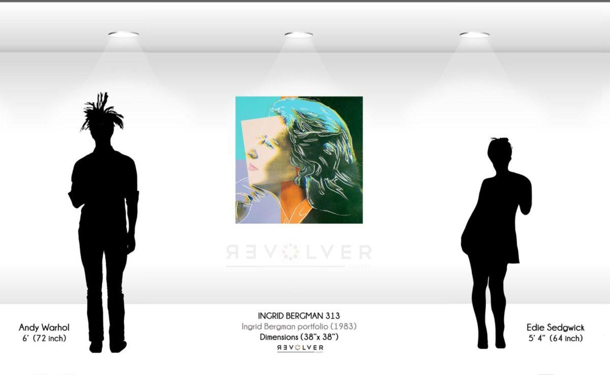 Andy Warhol Ingrid Bergman 313