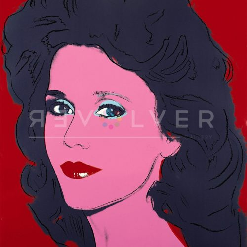 Jane Fonda 268 Trial Proof by Andy Warhol