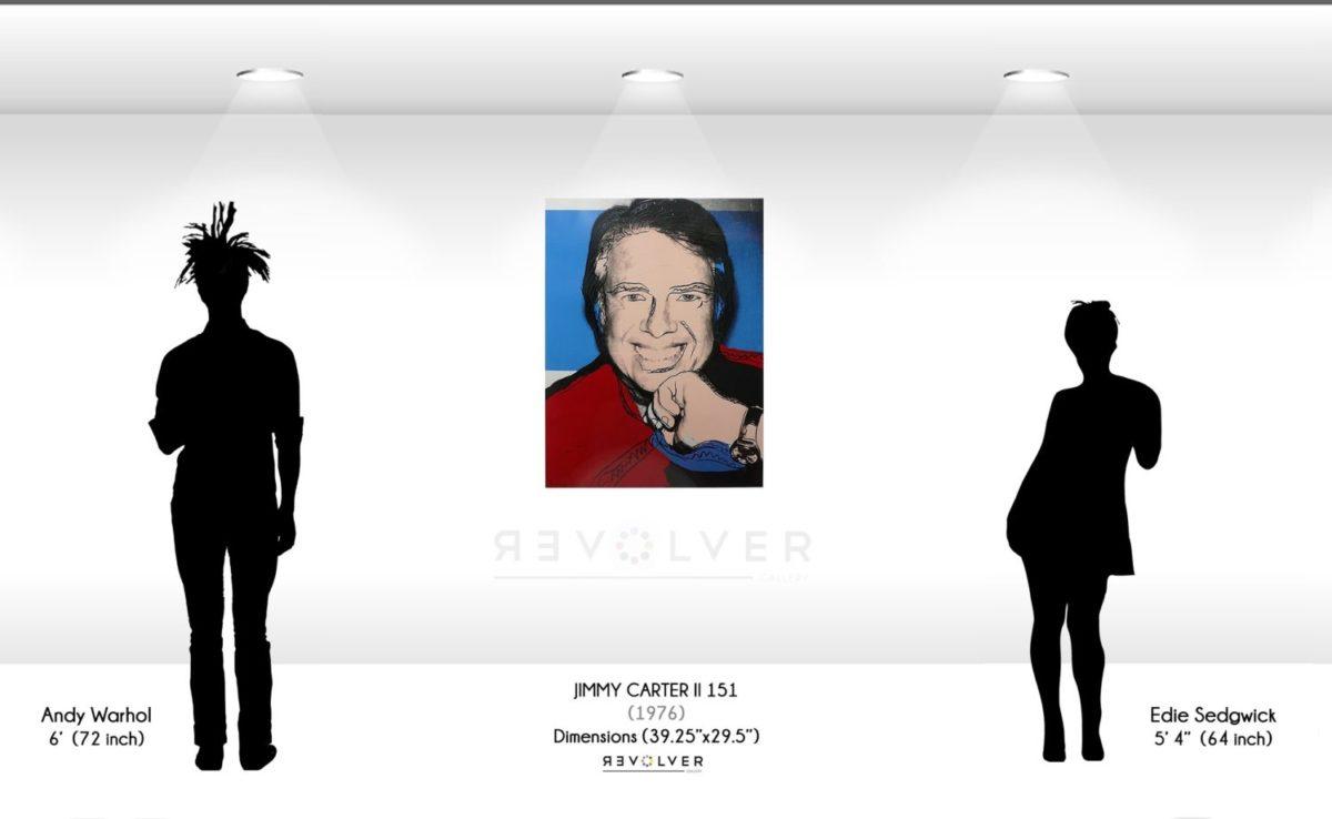 Andy Warhol Jimmy Carter ii 151