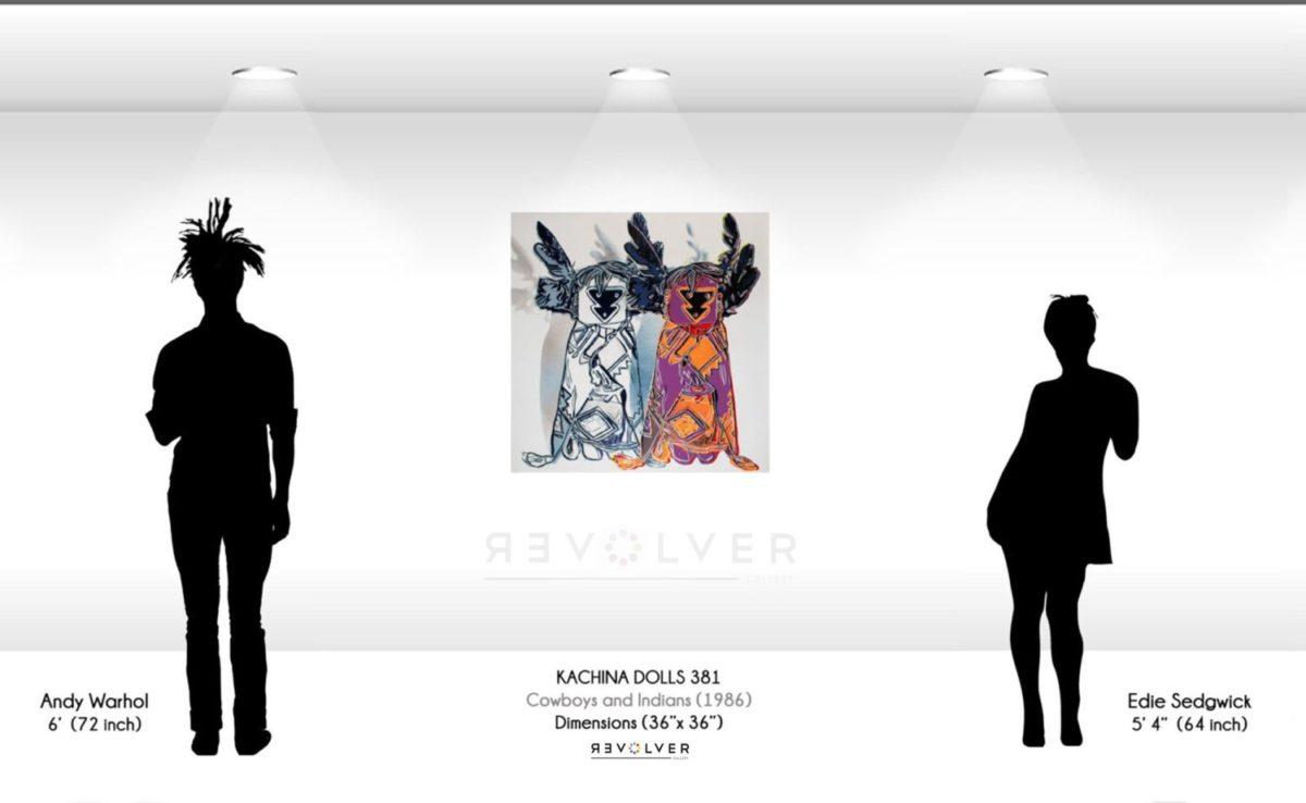 Andy Warhol Kachina dolls 381