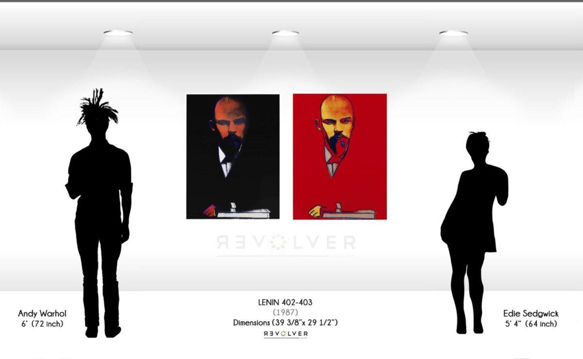 Andy Warhol Lenin complete portfolio