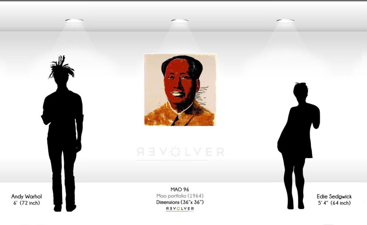 Andy Warhol Mao 96