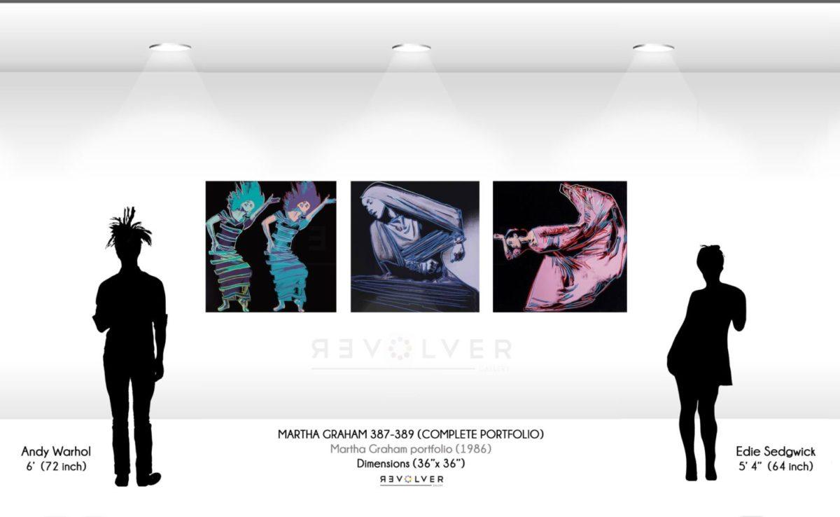 Andy Warhol Martha Graham complete portfolio