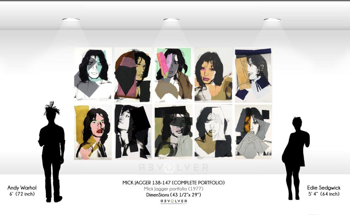 Andy Warhol Mick Jagger complete portfolio