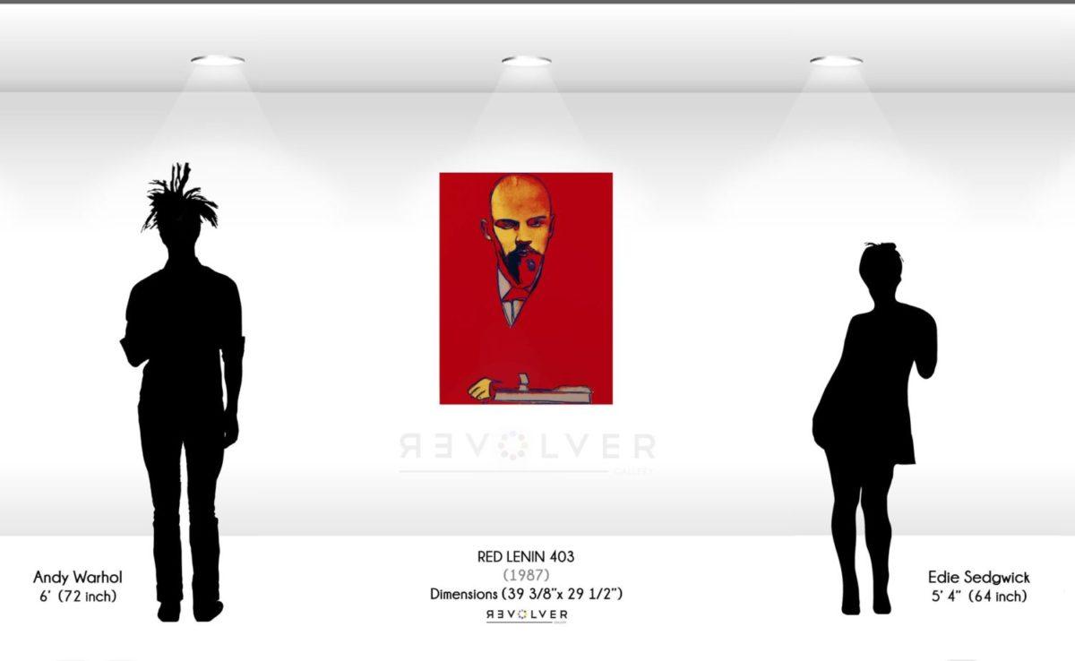 Andy Warhol Red Lenin 403