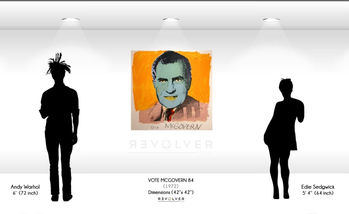 Warhol Vote McGovern 84 Wall Display