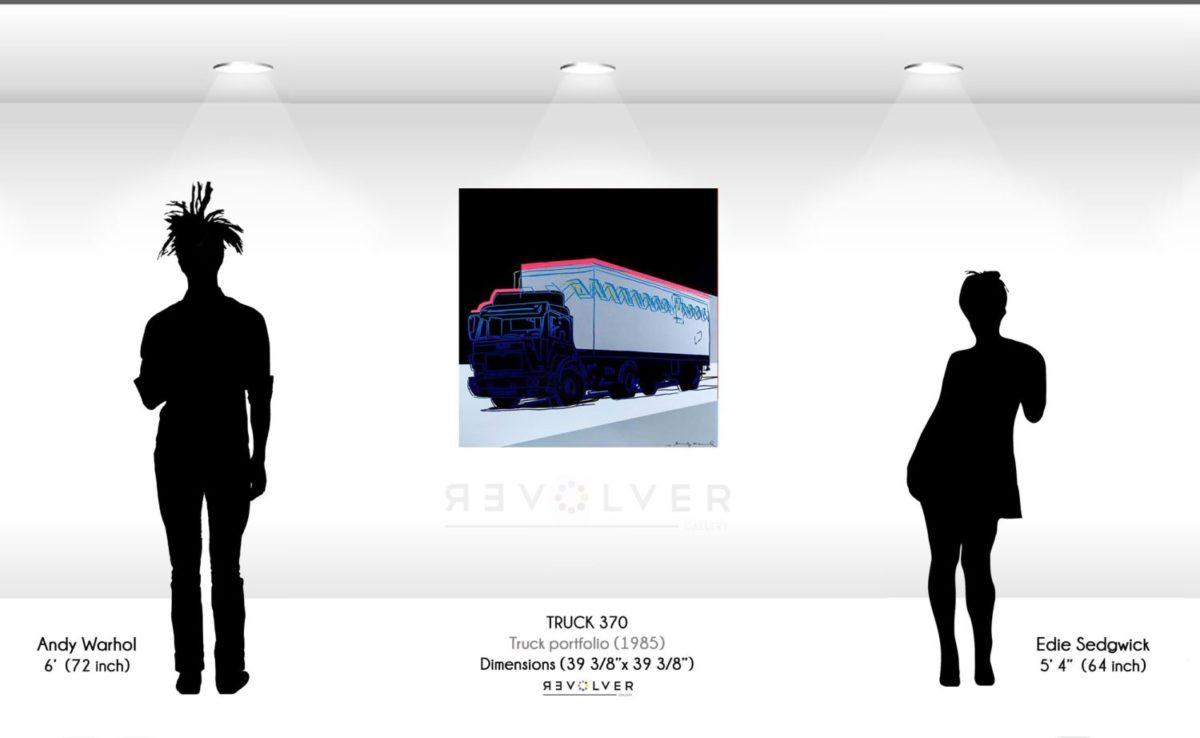 Warhol Truck 370 Wall Display