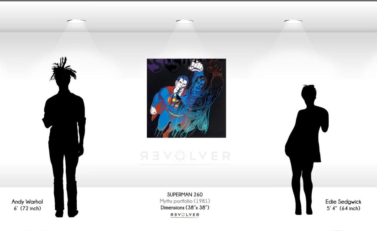 Warhol Superman 260 Wall Displa