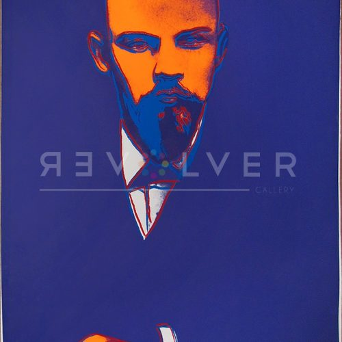 Andy Warhol Black Lenin Trial Print