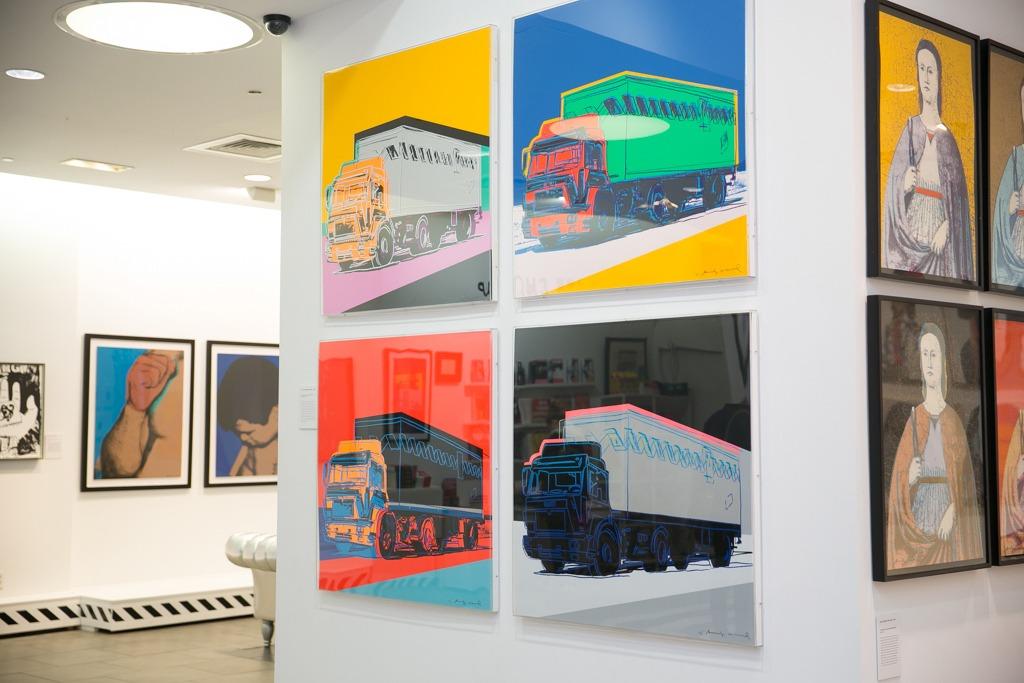 Warhol Trucks Complete Portfolio Warhol Revisited