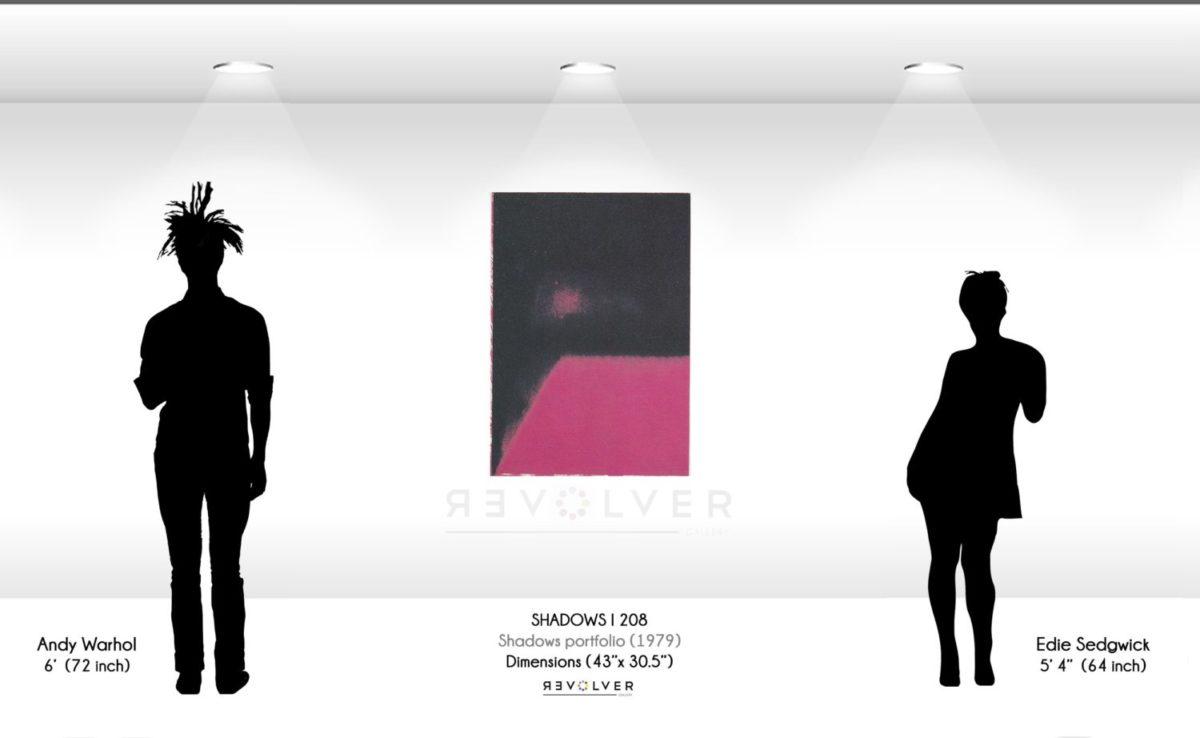 Warhol Screenprint Shadows I 208